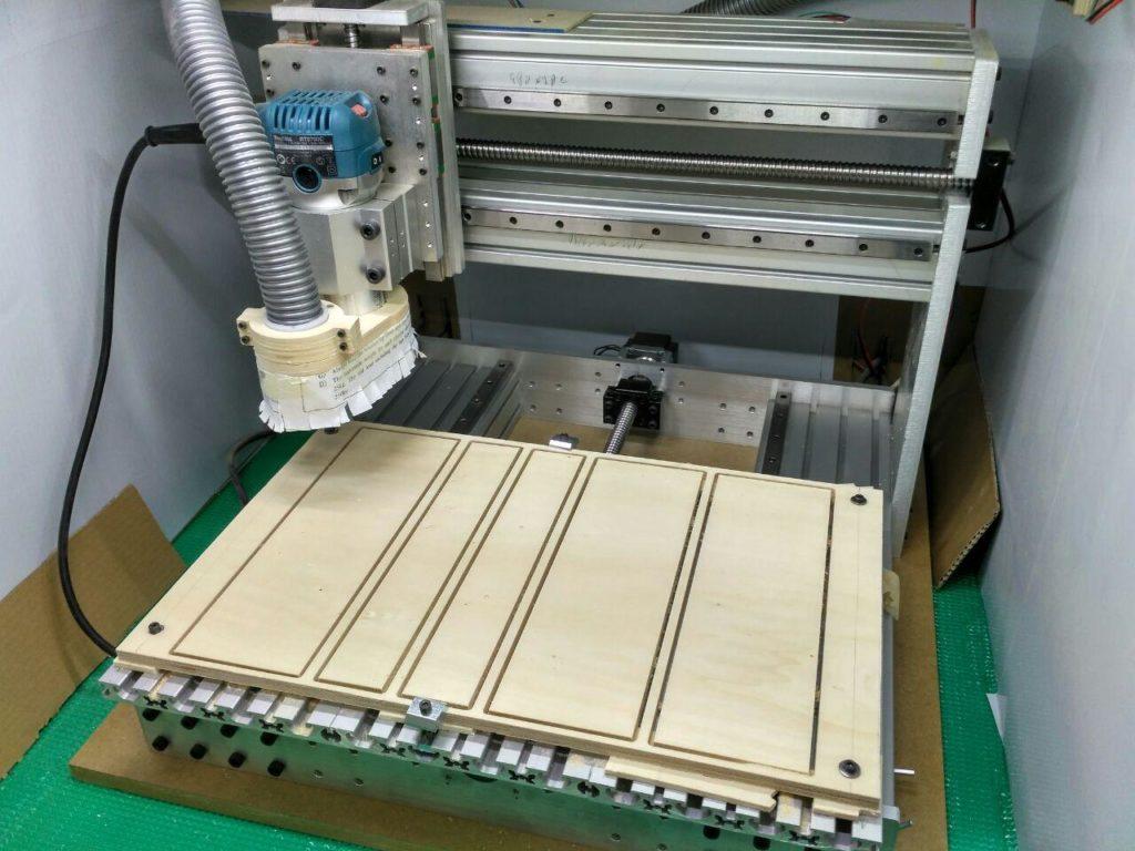 Panel mecanizado entero