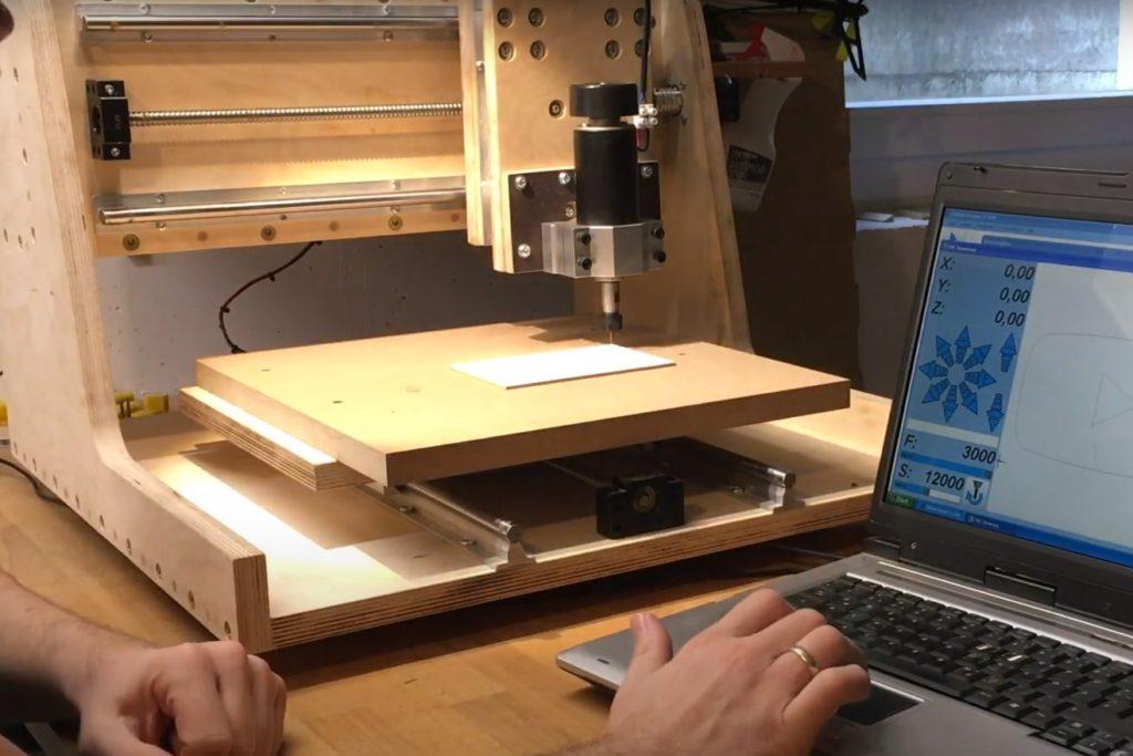 fresadora cnc de madera inferior a 500€