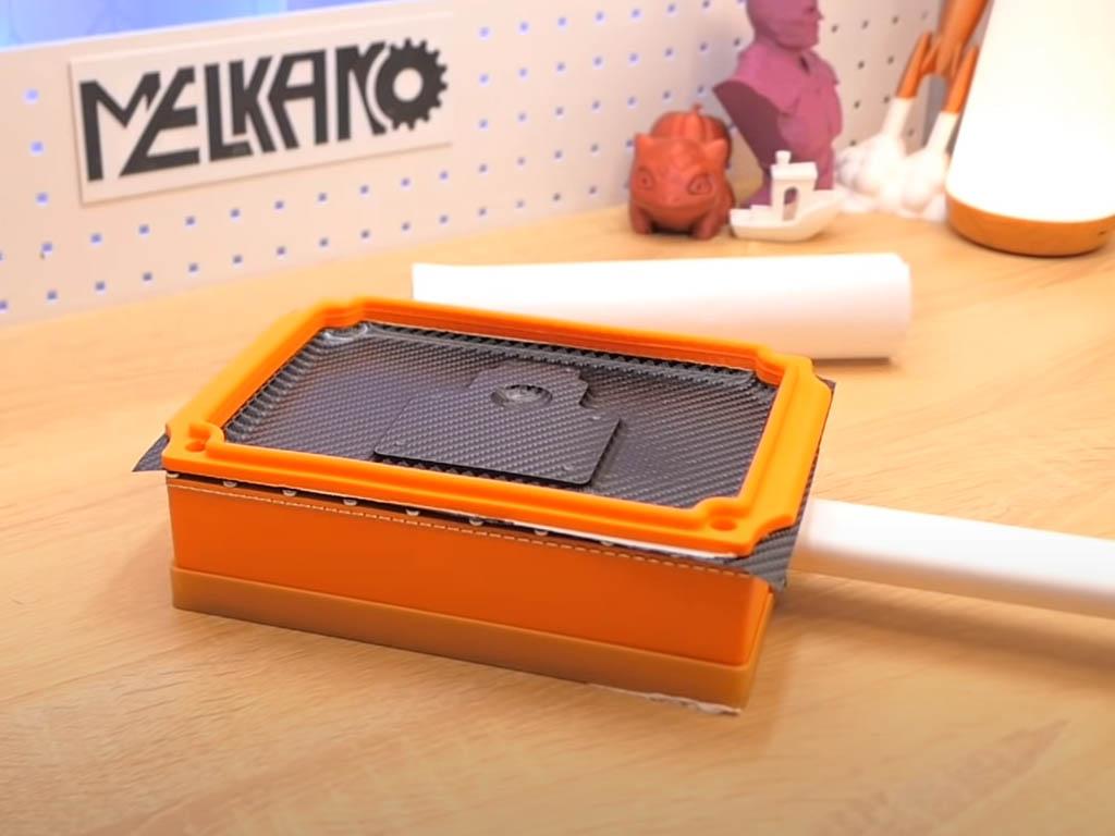 Maquina de termoconformado impresa en 3d