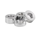 separador cilindrico aluminio pequeño