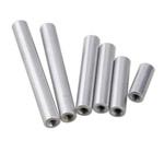 separador cilindrico aluminio roscado