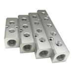 Distribuidor de aluminio tipo B