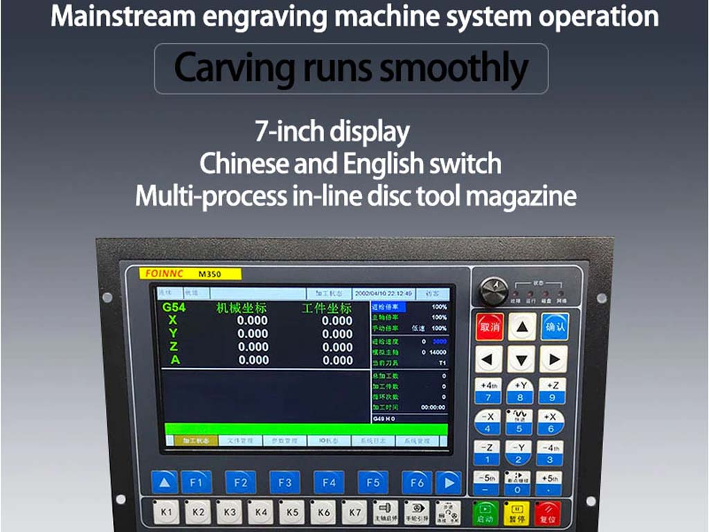 Controladora todo en uno para CNC M350