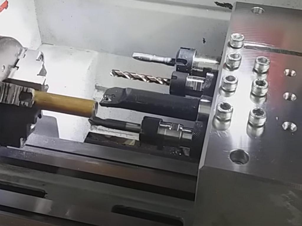 bloque diy para herramientas de torneado